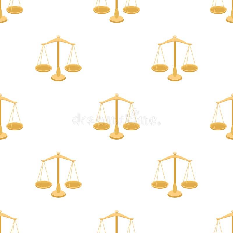 Våg för smycken Vikter för att mäta bestraffning vektor illustrationer