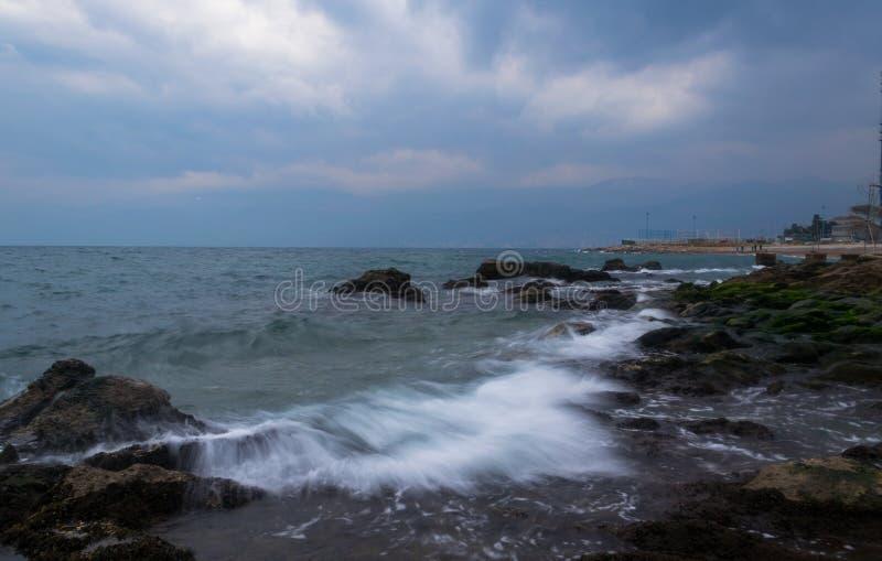Vågor från söderna fotografering för bildbyråer