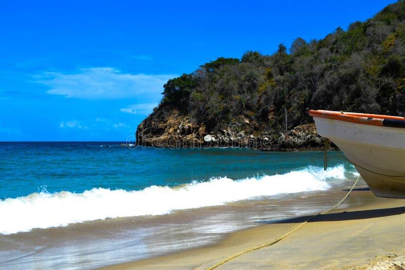 Vågor hav, berg, natur, ferier som är härliga royaltyfria bilder