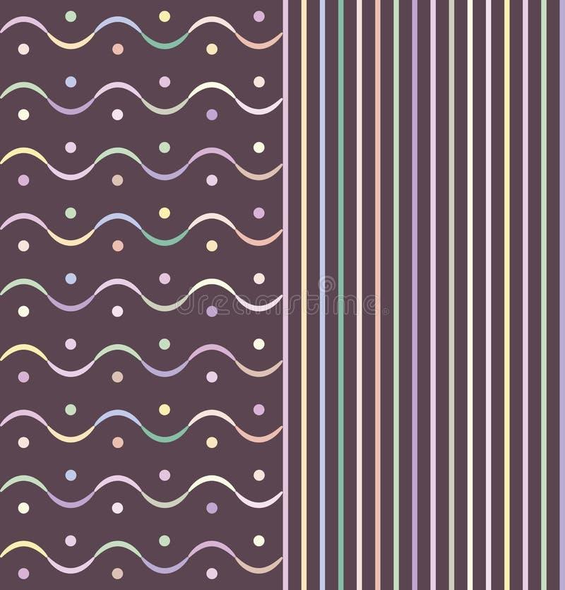 Vågor med linjer arkivfoton