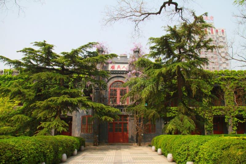 vår av luhemellanstadiet i tongzhouområdet, beijing, porslin arkivfoton