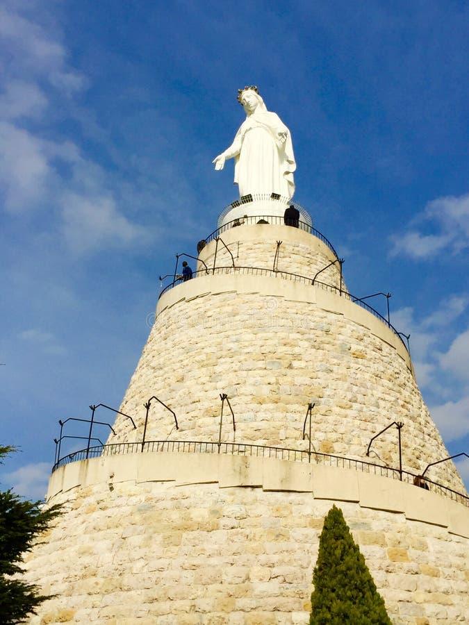 Vår dam av Libanon royaltyfria bilder
