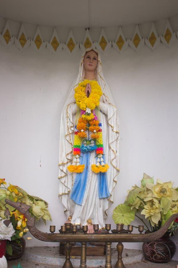 Vår dam, oskuld Mary, moder av guden fotografering för bildbyråer