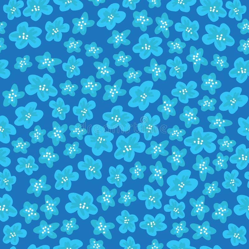 Vår flowers-04 vektor illustrationer