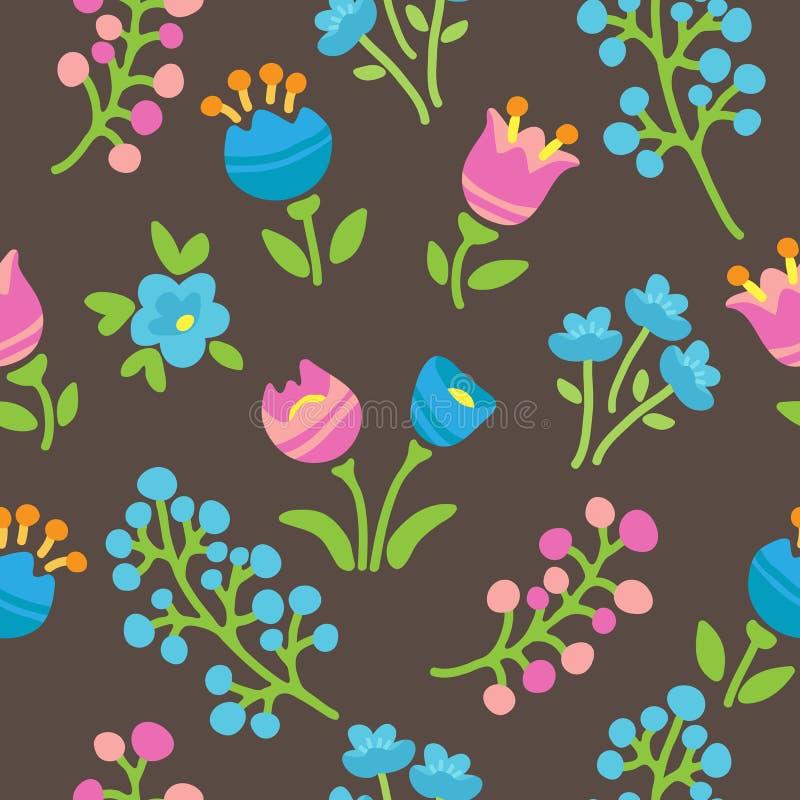 Vår flowers-19 vektor illustrationer