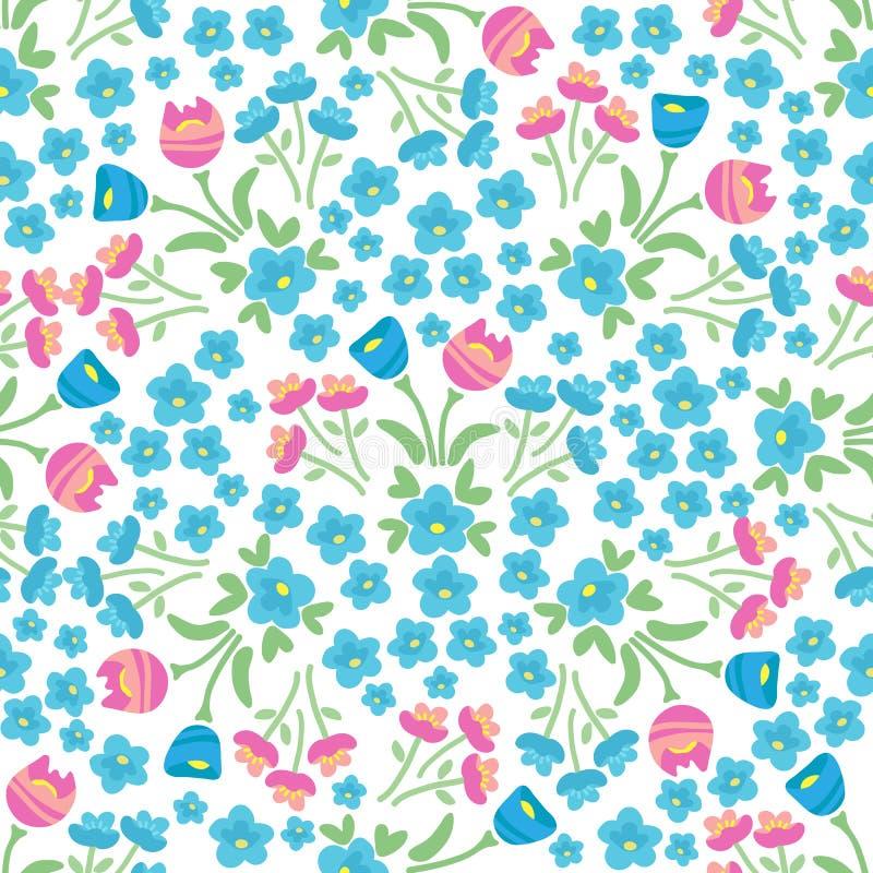 Vår flowers-22 stock illustrationer
