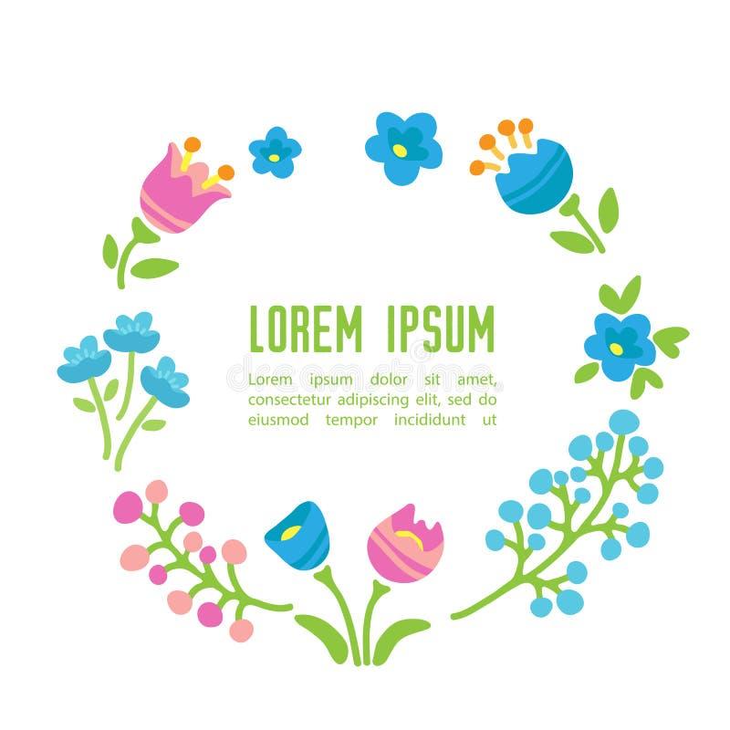 Vår flowers-15 royaltyfri illustrationer
