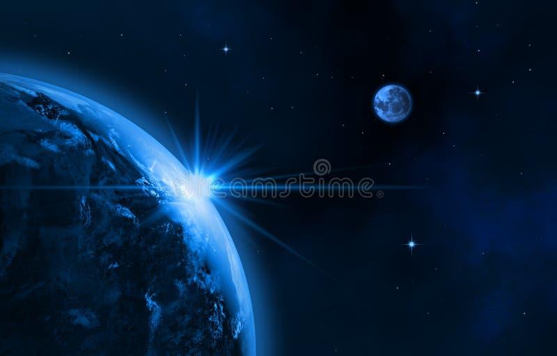 Vår galax royaltyfri illustrationer