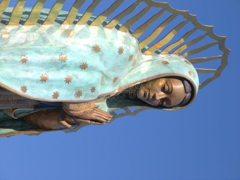 vår guadalupe lady royaltyfri foto