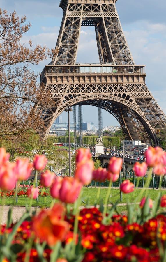 Vår i Paris arkivfoton