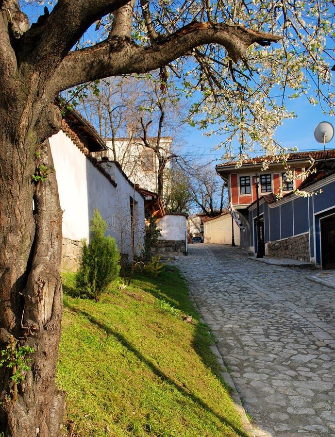 Vår i Plovdiv royaltyfria foton