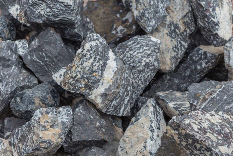 Vård- och läka Sebra-stenen arkivfoton