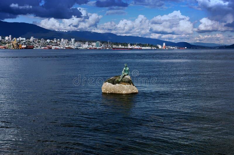 Våt Kanada Flickadräkt Royaltyfri Bild