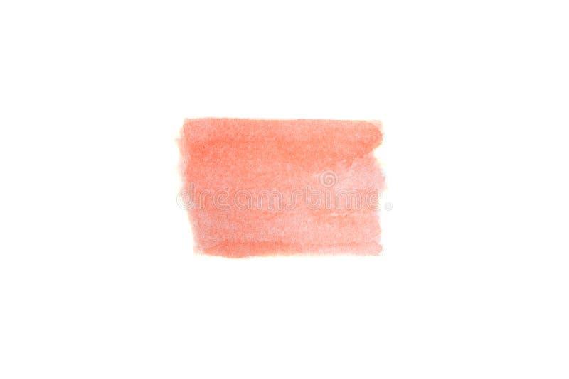 våt textur Abstrakt bakgrund för vattenfärg Målad hand royaltyfri bild