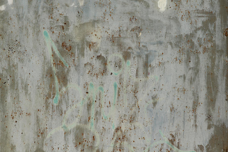 Våt vägg för järn, bakgrund arkivfoton