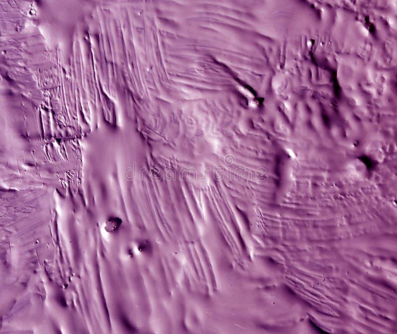 Våta målarfärgstrockes för abstrakt färg arkivbild