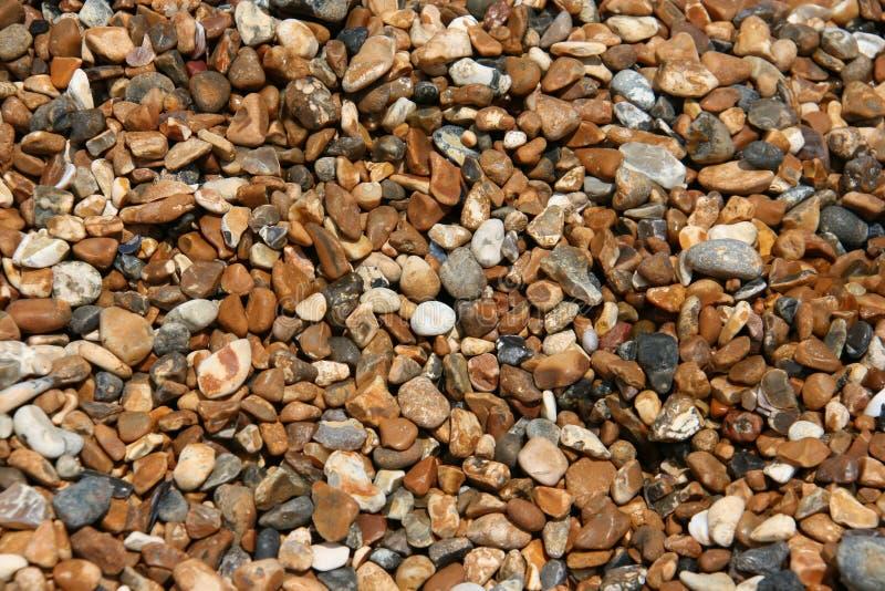 våta pebbles royaltyfria foton