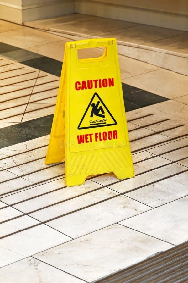 Vått golv