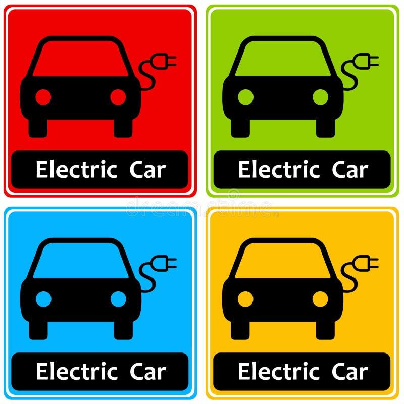 Véhicule électrique illustration stock