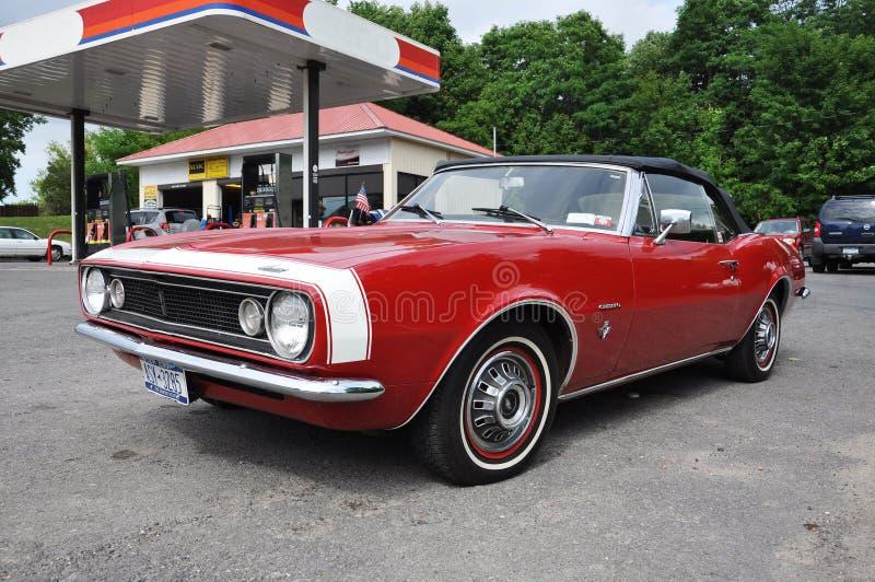 Véhicule 1967 antique de Chevrolet Camaro photographie stock libre de droits