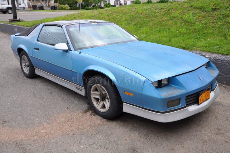 Véhicule 1988 de muscle de Chevrolet Camaro photographie stock libre de droits