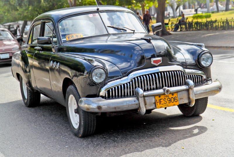 Véhicule américain classique à La Havane. Le Cuba. photos libres de droits