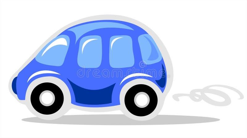 Véhicule bleu illustration stock