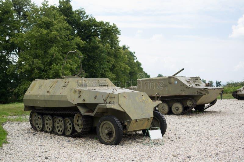 Véhicule blindé de combat et de transporteur de personnel images libres de droits