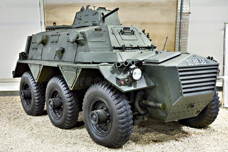 Véhicule blindé de transport de troupes britannique Alvis Saracen photos stock