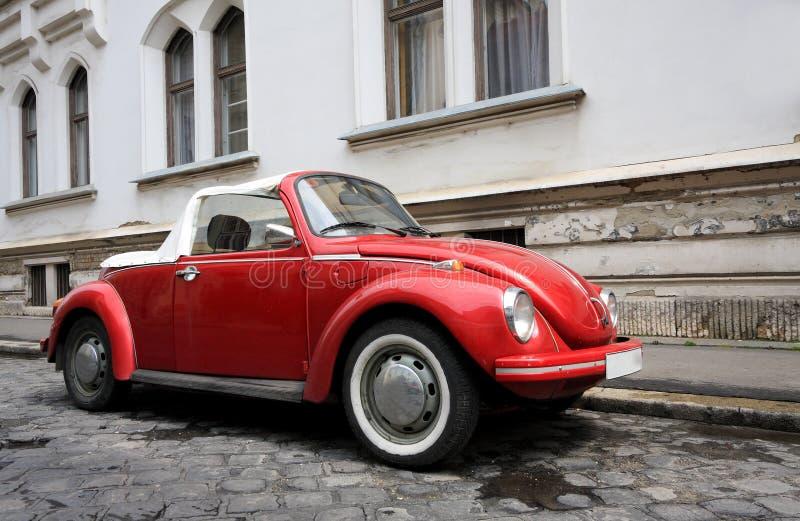 Véhicule classique à Budapest photographie stock libre de droits