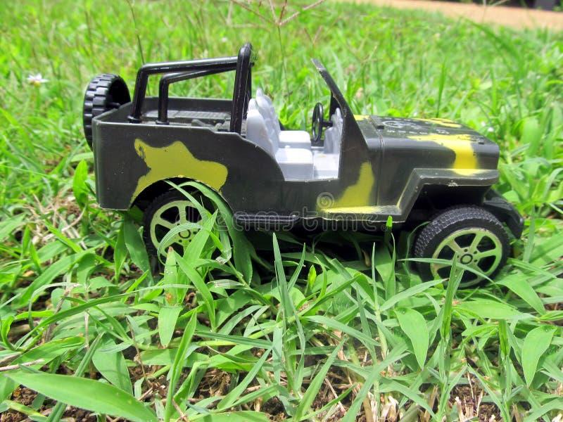 véhicule d'armée de jouet image stock