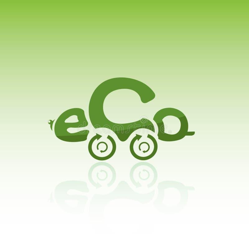 Véhicule d'Eco illustration de vecteur