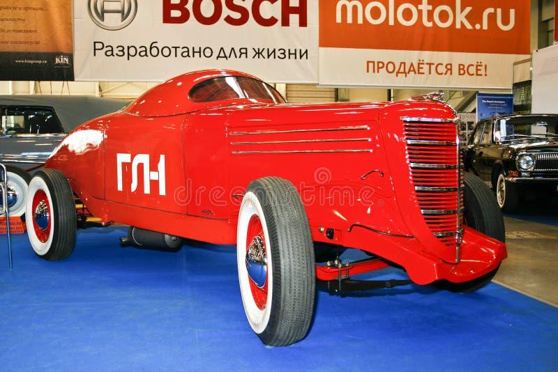 Véhicule d'emballage légendaire soviétique GL - 1 images libres de droits