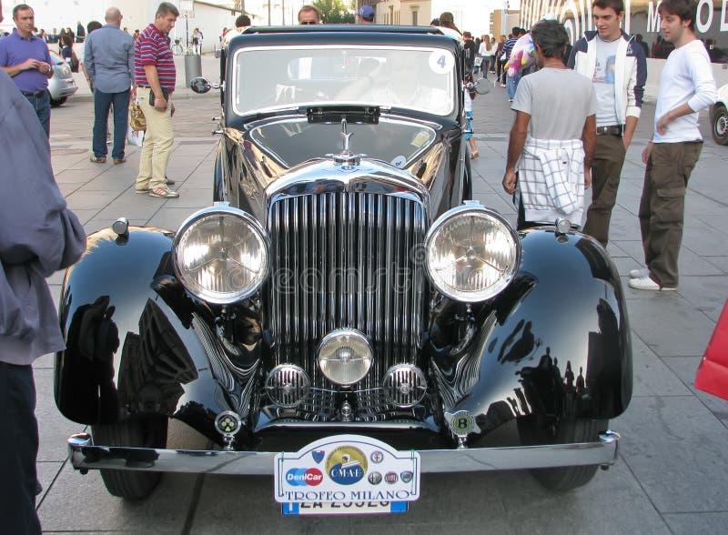 Véhicule de Bentley de cru images libres de droits