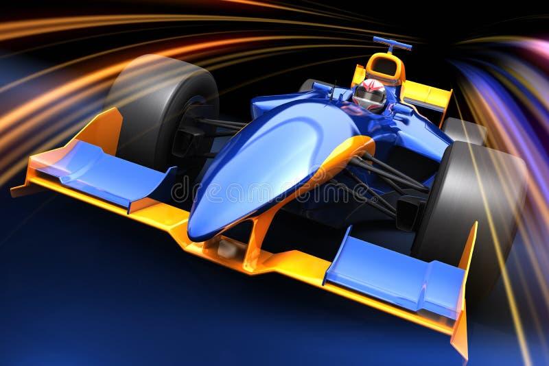 Véhicule de chemin de Formule 1 illustration de vecteur