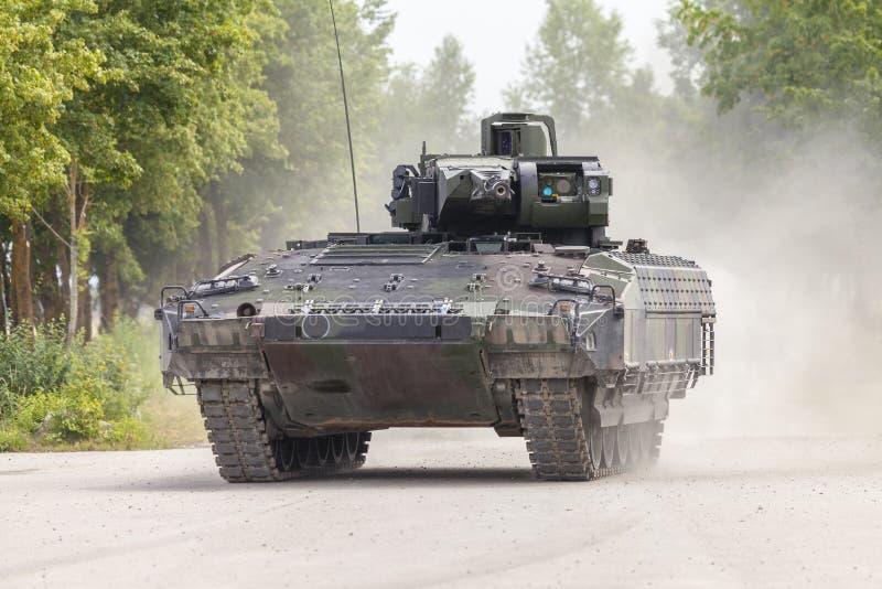 Véhicule de combat allemand d'infanterie image stock