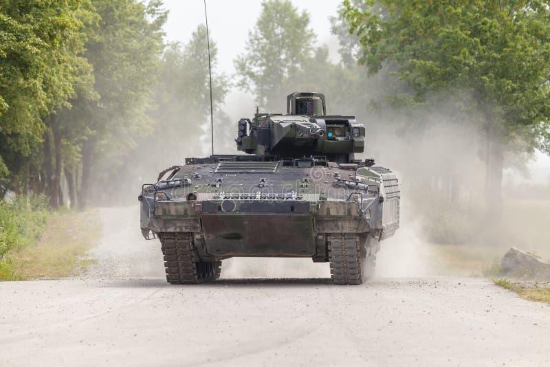 Véhicule de combat allemand d'infanterie photo libre de droits