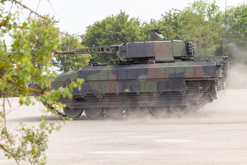 Véhicule de combat allemand d'infanterie images libres de droits