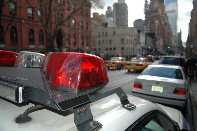 Véhicule de cop à New York image libre de droits