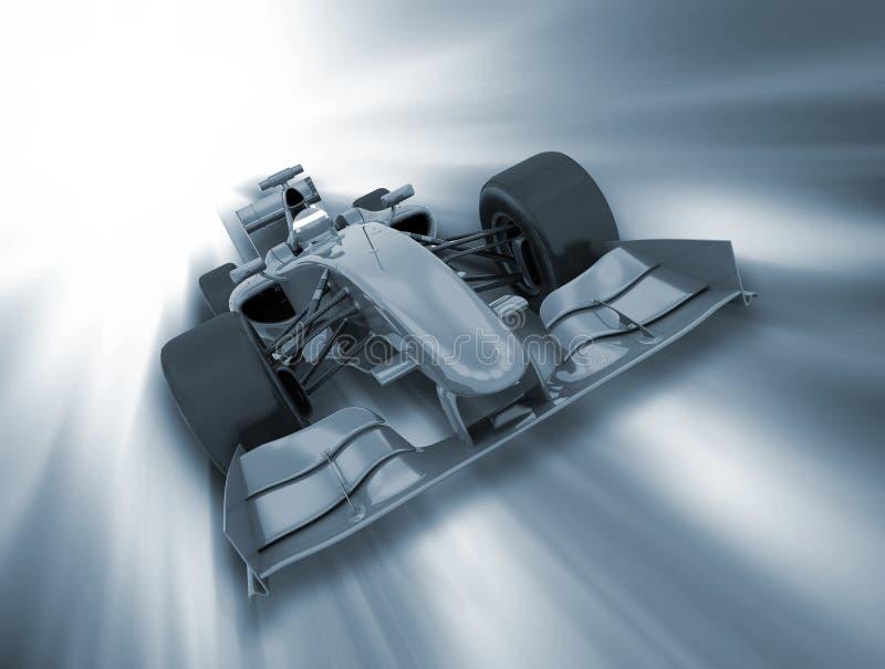 Véhicule de Formule 1 illustration de vecteur
