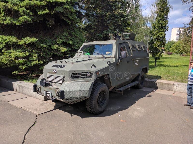 Véhicule de l'Ukraine d'armée photographie stock libre de droits