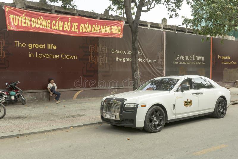 Véhicule de luxe de Rolls Royce image stock