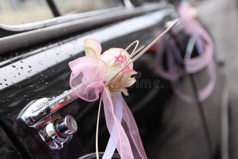 Véhicule de mariage photo stock