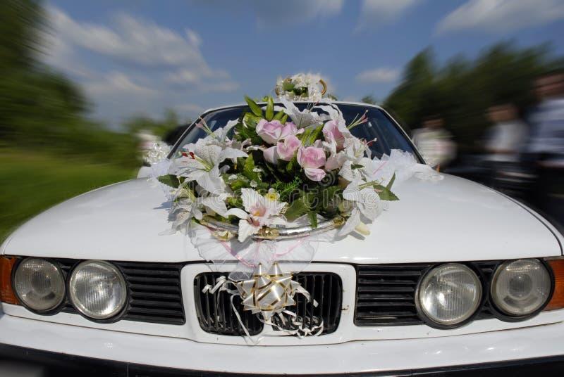 Véhicule de mariage image libre de droits