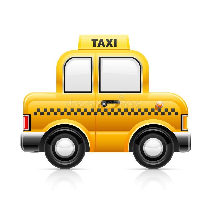 Véhicule de taxi illustration libre de droits