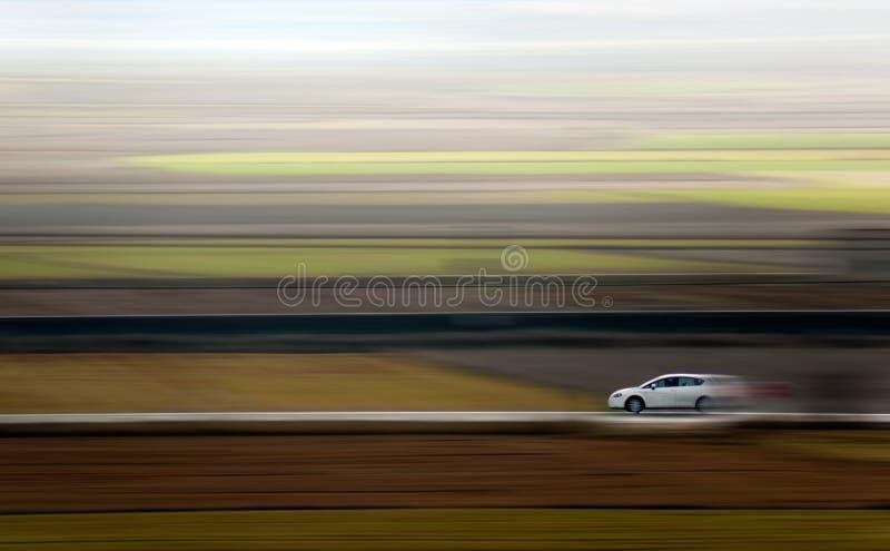 Véhicule et vitesse photo stock
