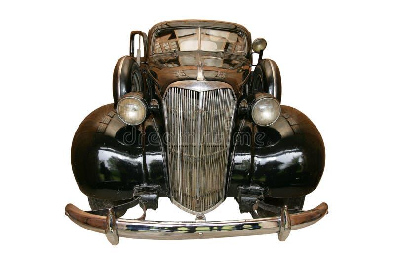 véhicule noir antique vieux images stock