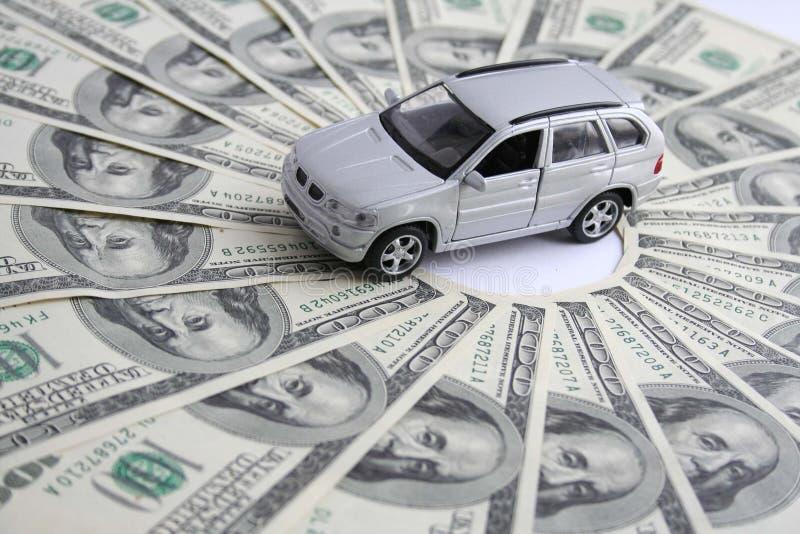 Véhicule pour l'argent image libre de droits