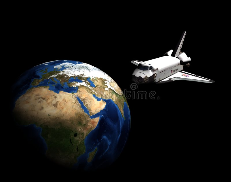 véhicule spatial illustration de vecteur