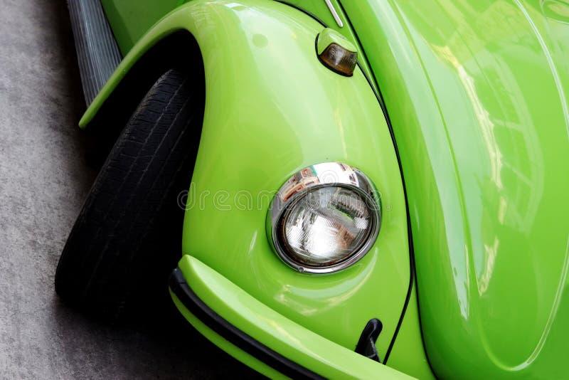 Véhicule vert photo stock